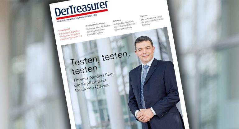 Thomas Neidert leitet das Qiagen-Treasury in stürmischen Zeiten.