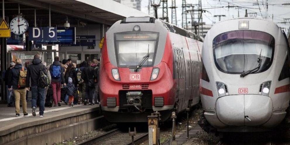 Die Deutsche Bahn finanziert sich am Sterling-Bondmarkt.