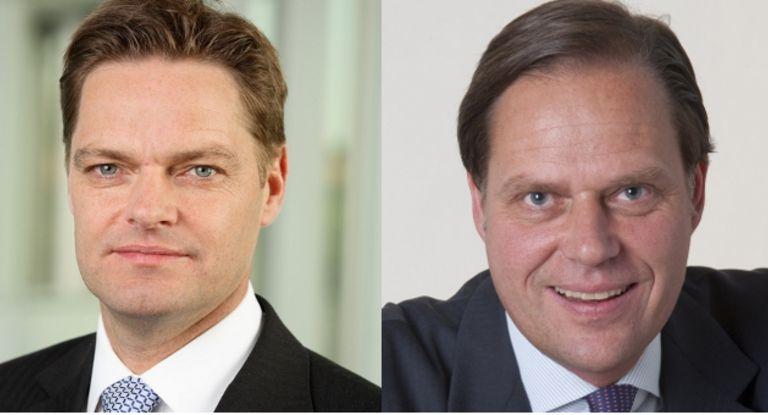 Personalwechsel bei der HVB: Jan Kupfer (links) wird Global Co-Head des Global Transaction Bankings. Ihm folgt Philipp Reimnitz als Regionalbereichsleiter Nord in der Unternehmer Bank nach.