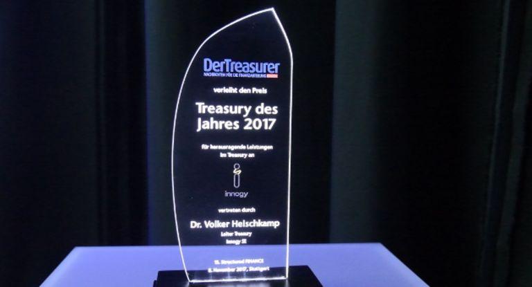 DerTreasurer, Award, Treasury des Jahres, Auszeichnung