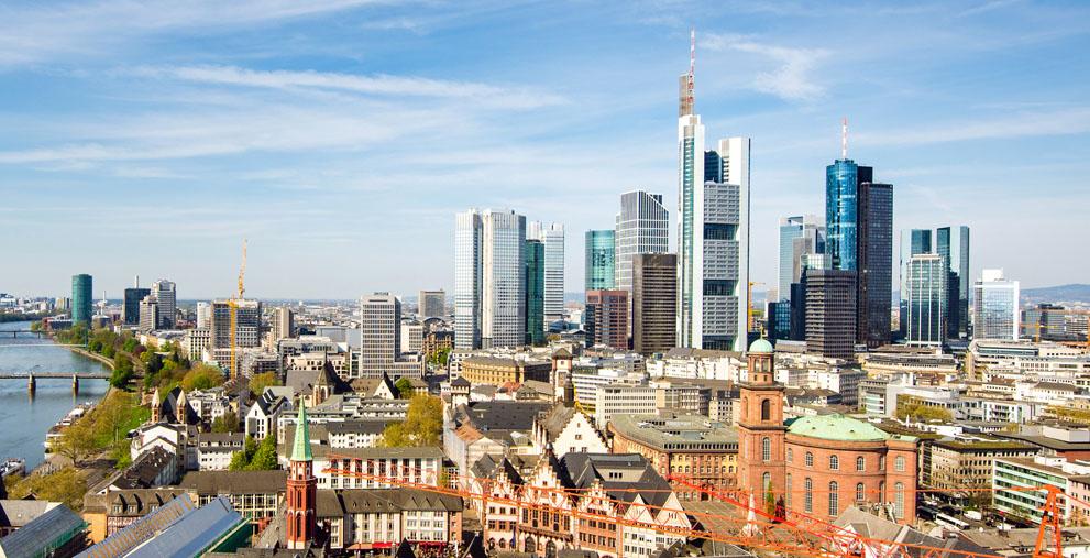 Hines verwaltet auch Gebäude in Frankfurt am Main.
