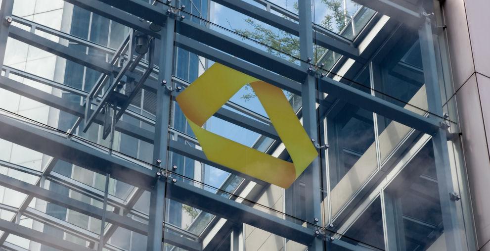Commerzbank-Zentrale in Frankfurt am Main: Vorstand Michael Reuther stellte vier Initiativen für das Firmenkundengeschäft vor.