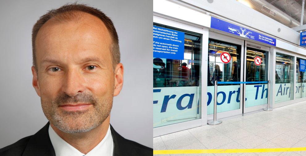 """Fraport-Treasury-Chef Michael Schütt: """"Für uns war es ein erster Test."""""""