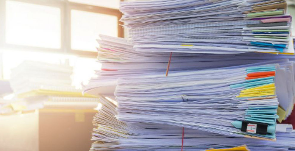 E-Rechnungen sollen lästige Papierstapel ablösen.