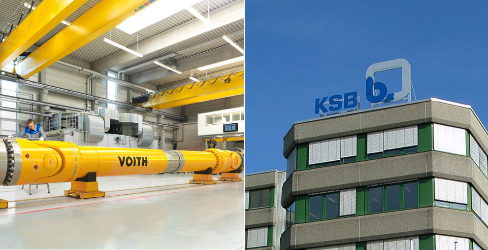 Die Industrieunternehmen Voith und KSB haben zwei voneinander unabhängige Handelsgeschäfte über die Blockchain-Plattform Marco Polo abgewickelt.