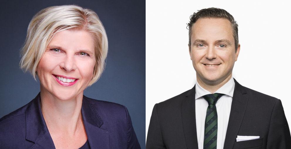 Stabwechsel: Florian Keller übernimmt die Leitung des Bereichs Transaction Services bei der SEB Deutschland von Kirsi Wiitala.